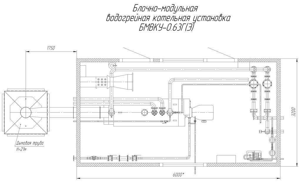 техническое описание модульных котельных
