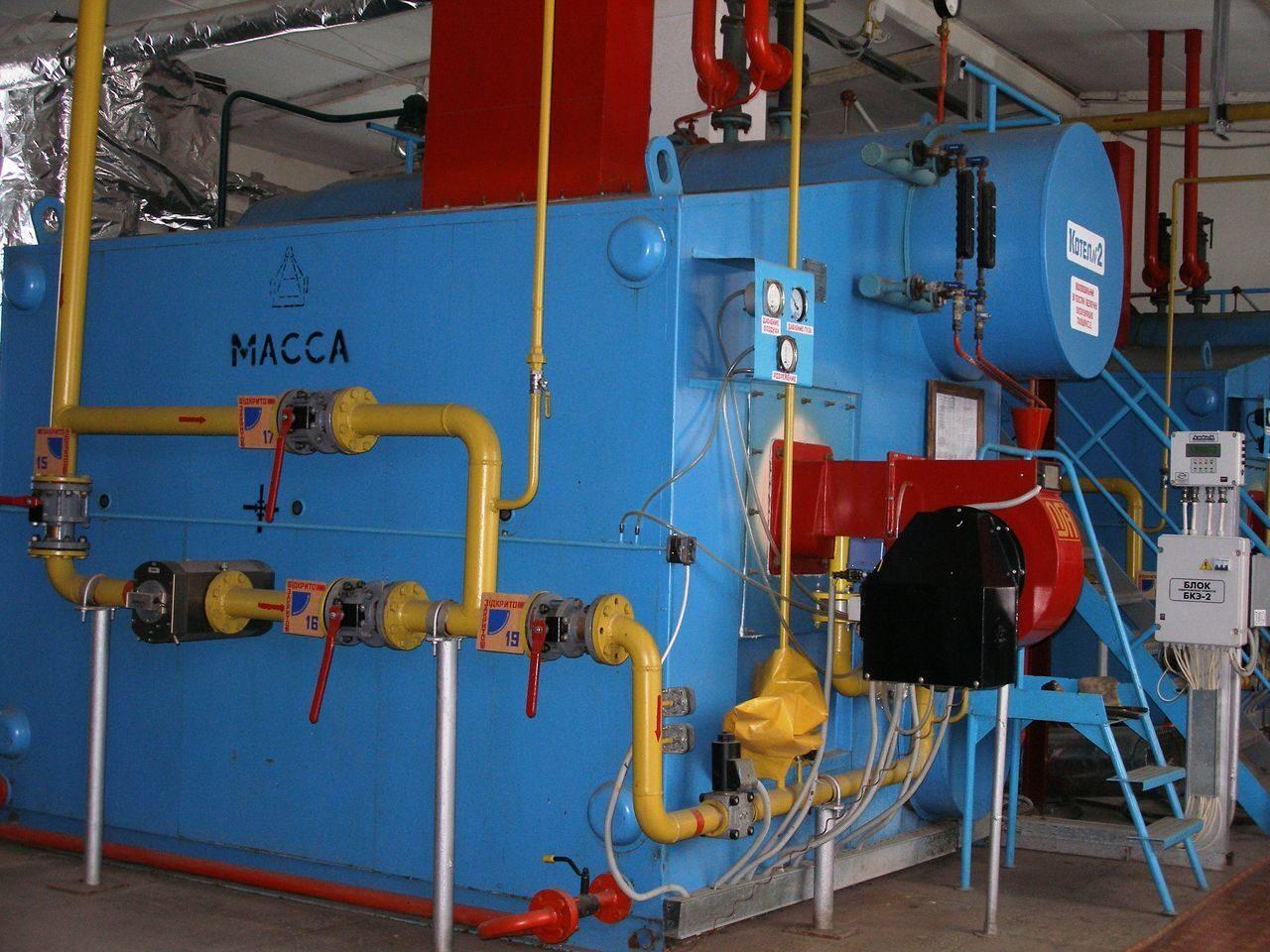 паровые котельные на газе оборудование